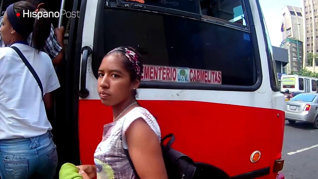 Venezolanos se quedan sin transporte público por falta de autopartes