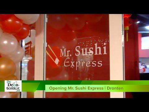 VIDEO | Mr. Sushi Express in Dronten richt zich op afhalen en bezorgen