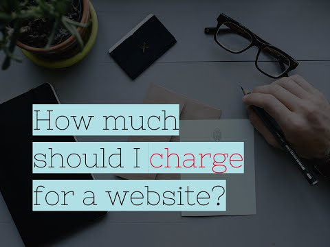 How Much Should You Charge for Website Design?