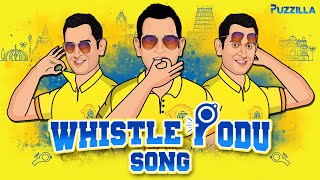 Whistle Podu Song | #WhistlePodu | Whistle Podu CSK |