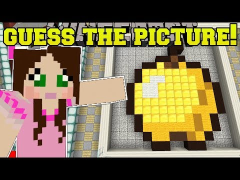 Minecraft: CAN YOU GUESS THE PICTURE?!? (GUESS THE FALLING BLOCKS!) Mini-Game