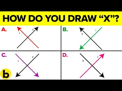 How You Draw The Letter