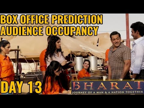 BHARAT BOX OFFICE COLLECTION DAY 13   PREDICTION   AUDIENCE OCCUPANCY   INDIA   SALMAN KHAN