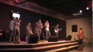 The Milestones singing at the Terra Nova Church Benefit Concert for The Knead, Sikeston MO (video 3)