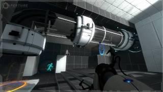 Portal 2 E3 walkthrough demo, Part 5: Pneumatic Diversity Vent