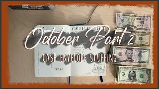 INCONSISTENT INCOME CASH ENVELOPE STUFFING | Weekly Spending & Sinking Funds | Dave Ramsey Inspired