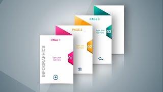 3 Steps Infographic Design Slide In PowerPoint