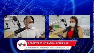 Programa Reporterpb no Rádio do dia 21 de Setembro de 2021