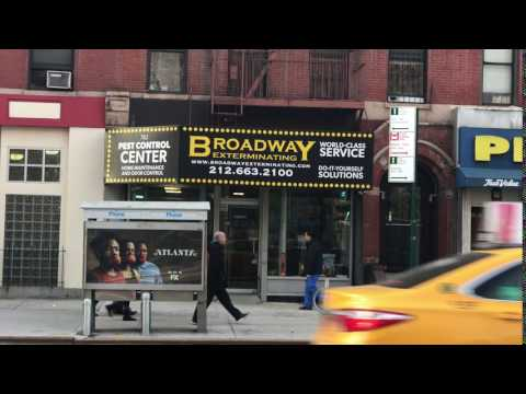 Broadway store front
