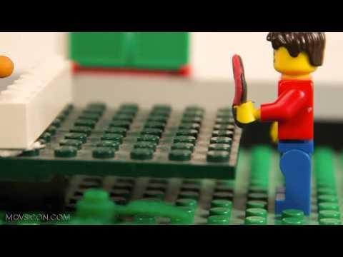LEGO теннис (конкурсное видео)