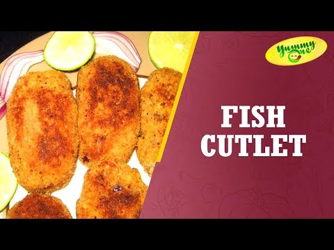 How to Make Fish Cutlet Non Veg | YummyOne