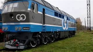 V-16! ПОДГОТОВКА К ПЕРВОМУ РЕЙСУ ТЭП70 0237.
