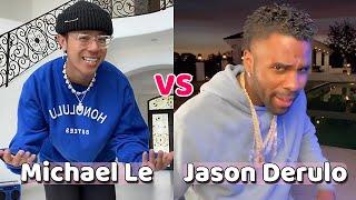 Michael Le Vs Jason Derulo Tik Tok Compilation 2020