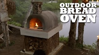 We Made An Outdoor Bread Oven! | Brojects: The Webisodes