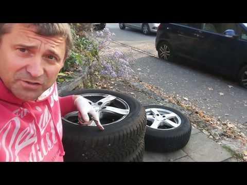 Räder Reifen wechseln am VW Golf