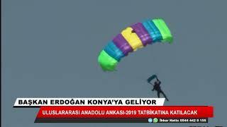 Cumhurbaşkanı Recep Tayyip Erdoğan Cuma günü Konya'ya geliyor
