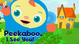Peekaboo, I See You | Children's Shows Compilation | Playing Peekaboo Cartoons for Kids | BabyFirst