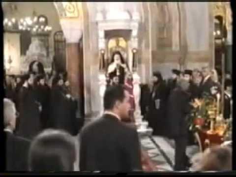 Αρχιεπίσκοπος Χριστόδουλος-Εσπερινός Απ. Ανδρέα