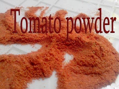 Σπιτική  σκόνη ντομάτας