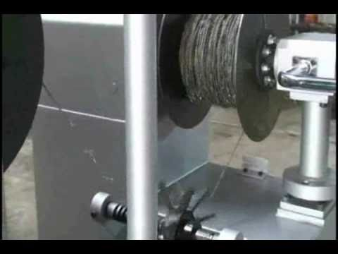 Reverse Twist Barbed Wire Machine-