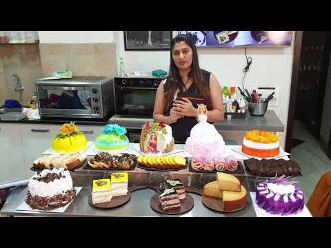 Cake & pastry for online classes call☎️  ☎️9325294757 by om ...