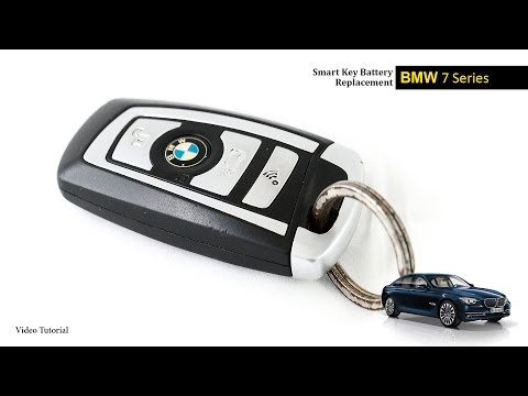 How to change the battery in a bmw key? (with pictures