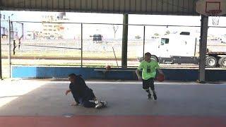 Professor vs Rusty Hooper at New Orleans Hood Court