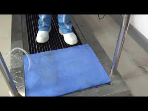 Shoe Sole Cleaning Machine Model: DCJ-1000