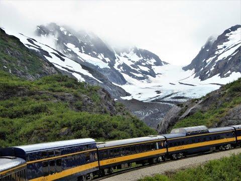 Seward to Anchorage, Alaska Train Ride 08 05 2016
