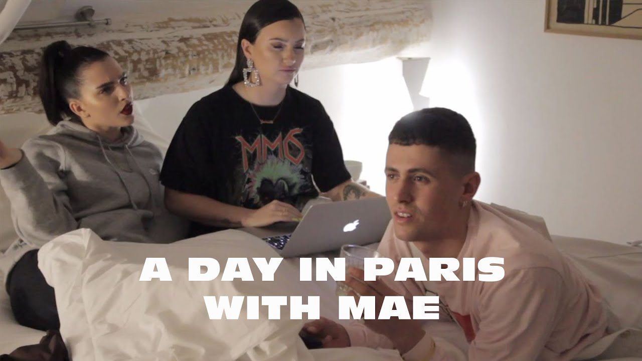 A Day In Paris With Mae