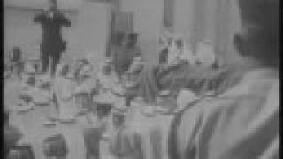 preview picture of video 'خطاب الملك فيصل في الرياضKing Faisal- Speech in Riyadh'