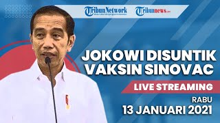 LIVE STREAMING: Presiden Jokowi Suntik Vaksin Covid-19 Hari Ini di Istana Negara Jakarta