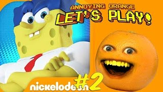 Annoying Orange Plays   Spongebob On The Run #2