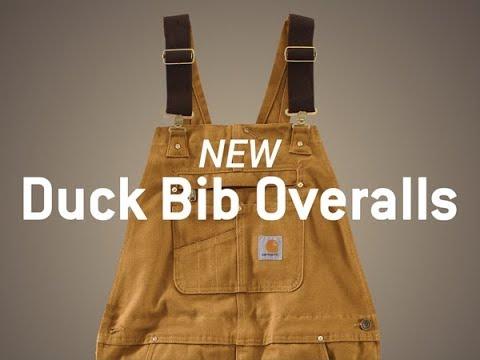 Product Spotlight: The Carhartt Duck Bib Overall