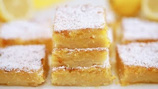 Easy Lemon Bars Recipe - Gemmas Bigger Bolder Baking