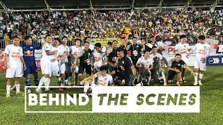 Behind The Scenes   Màn ăn mừng đầy cảm xúc sau chiến thắng trước Hà Nội   HAGL Media