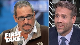 I don't trust Giants GM Dave Gettleman in the NFL draft – Max Kellerman | First Take