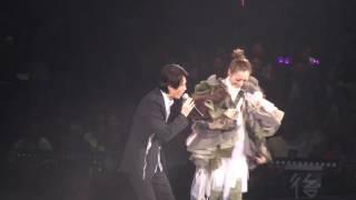 Sammi Touch mi2 演唱會第二場嘉賓黃子華花絮1