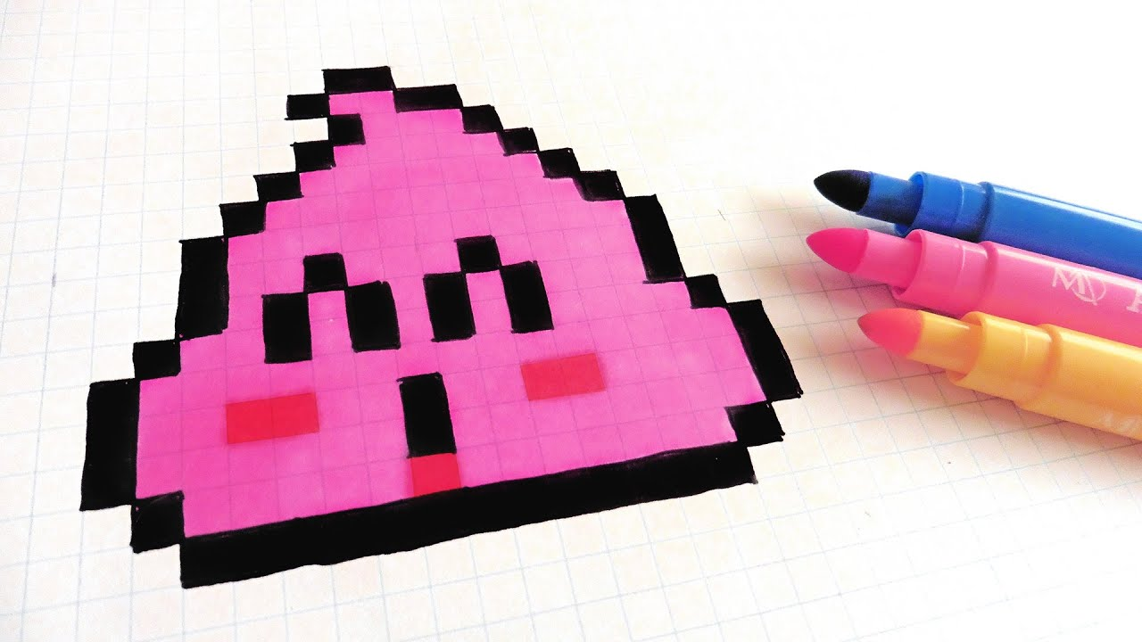 Dessin Pixel Licorne Dab