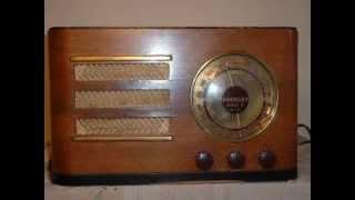 Tube Radio 'CROSLEY super 6' vintage 1937 ebay