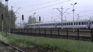 preview picture of video 'Zebrzydowice - EP09-033 z EC Polonia odjeżdża do Villach'