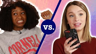 Teens Vs. Adults: Who's the Worst Texter? Ft. Taylor & Reese Hatala • Ladylike