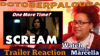 Scream 2022 Trailer Reaction - One More Time? Maybe? Finally?