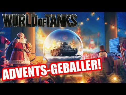 Ho Ho Ho! World of Tanks Advents-Geballer!