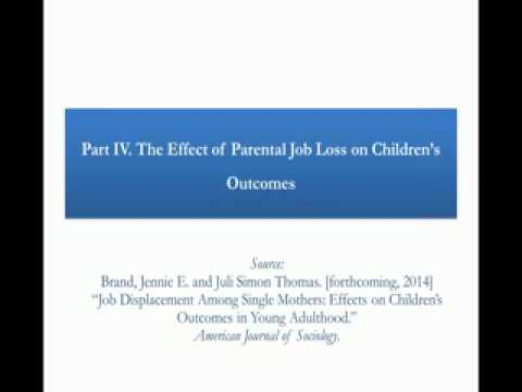 PRB Webinar: The Economic and Social Consequences of Job Loss and Unemployment Video thumbnail
