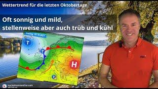 Große Unterschiede zwischen sonnig-milden Regionen und einigen kühlen und trüben Tälern
