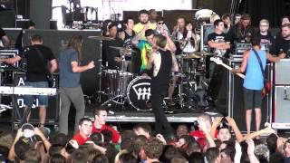 Chiodos - Full Set Live at Warped Tour Milwaukee 2013