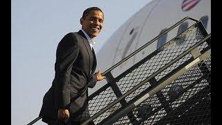 Kisumu residents excited as Former President Obama leaves K'ogelo for South Africa