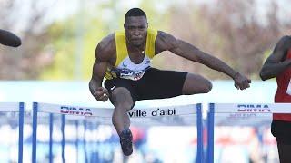 Albi 2020 : Finale 110 m haies (Wilhem Belocian en 13''20)