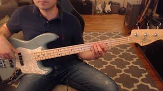 Earth Angel (Death Cab for Cutie) bass cover